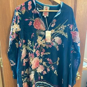 Johnny Was - Tunic - Floral - NWT